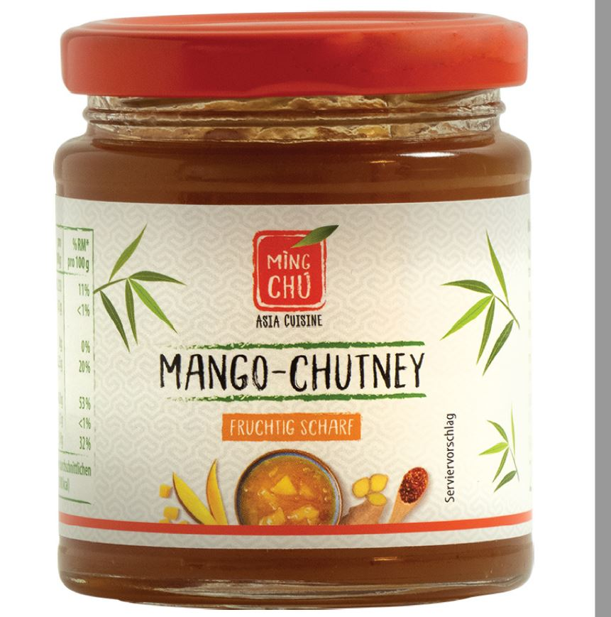 Mango Chutney Fruchtig Scharf, Ming Chu Asia Cuisine