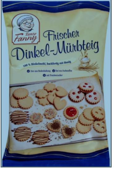 Tante Fanny Frischteig Dinkel-Mürbteig 400g