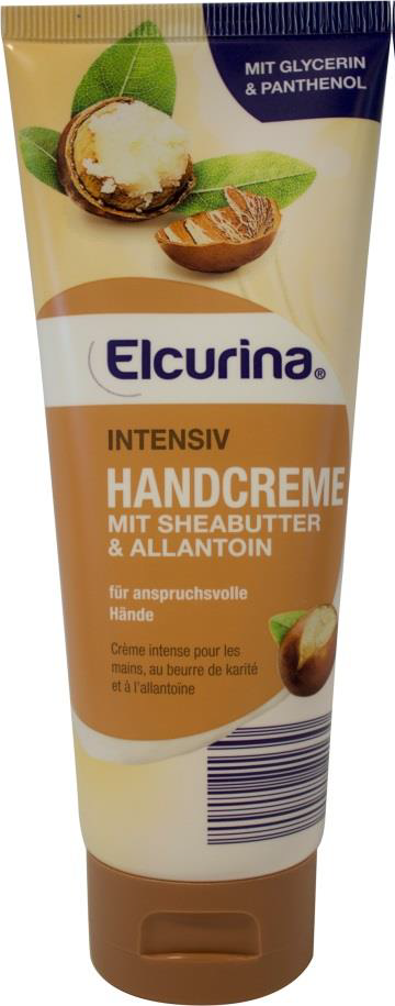 Elcurina Intensiv Handcreme mit Sheabutter & Allantoin