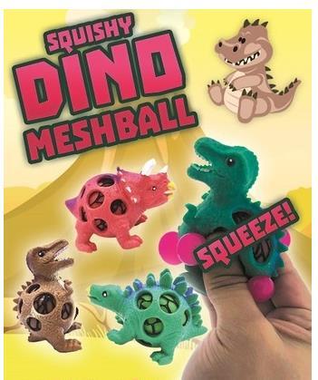Spuishy Dino Meshball