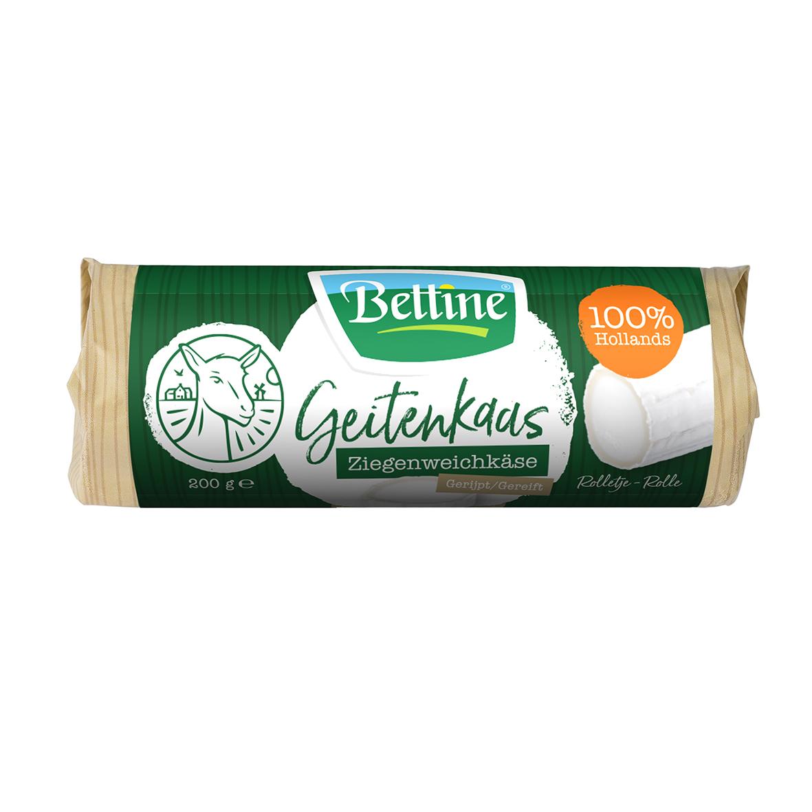 - Bettinehoeve Geitenkaas Ziegenweichkäse 200g - Bettinehoeve Geitenkaas Ziegenweichkäse 1 kg