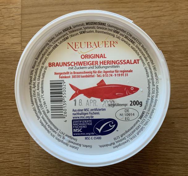 Neubauers Original Braunschweiger Heringssalat