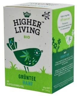 Higher Living Grüntee Hanf 20 Btl