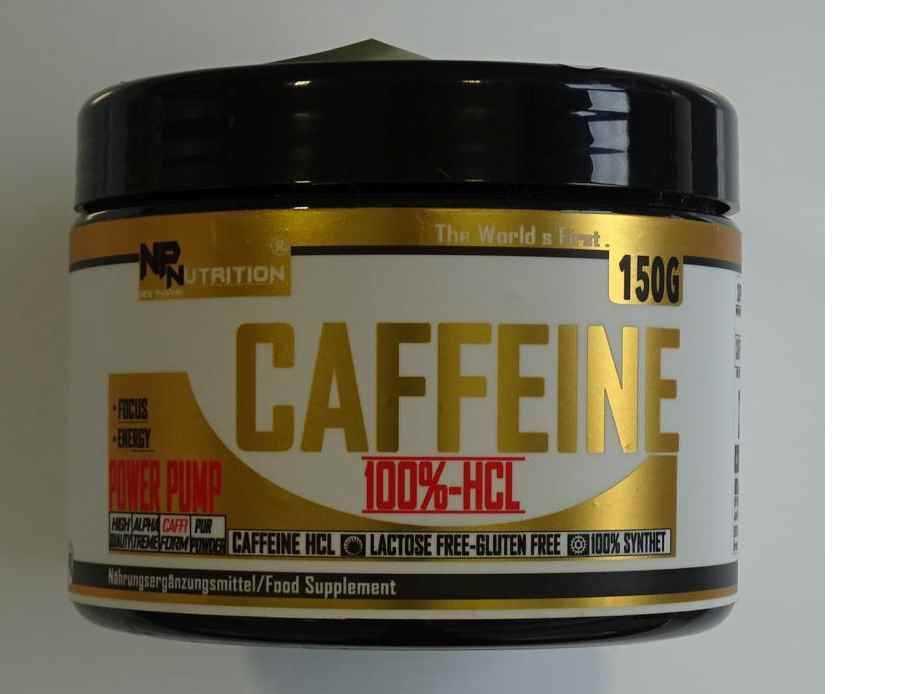 np nutrition CAFFEINE 100%-HCL
