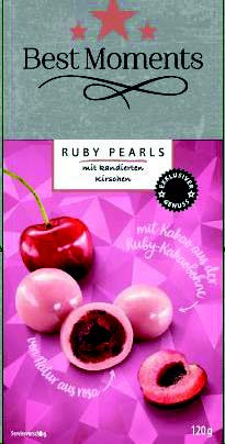 Best Moments Ruby Pearls mit kandierten Kirschen, 120 g