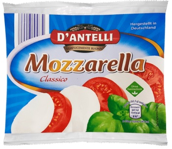 D'Antelli Mozzarella, Sorte Classico, 125g