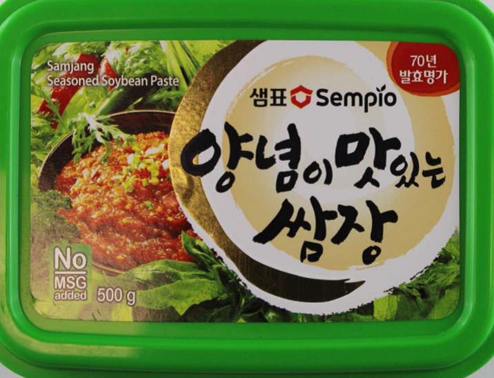Koreanische Sojabohnenpaste, gewürzt