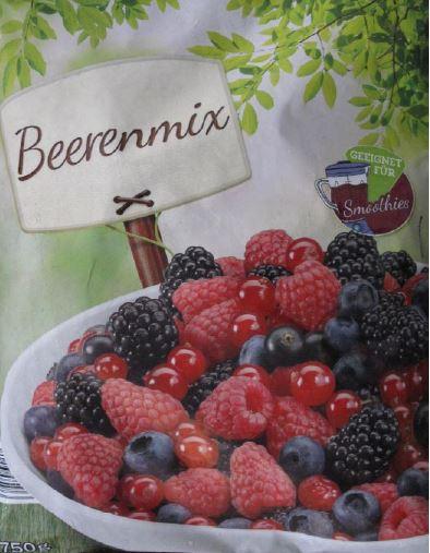 """"""" Beerenmix, 750g """""""