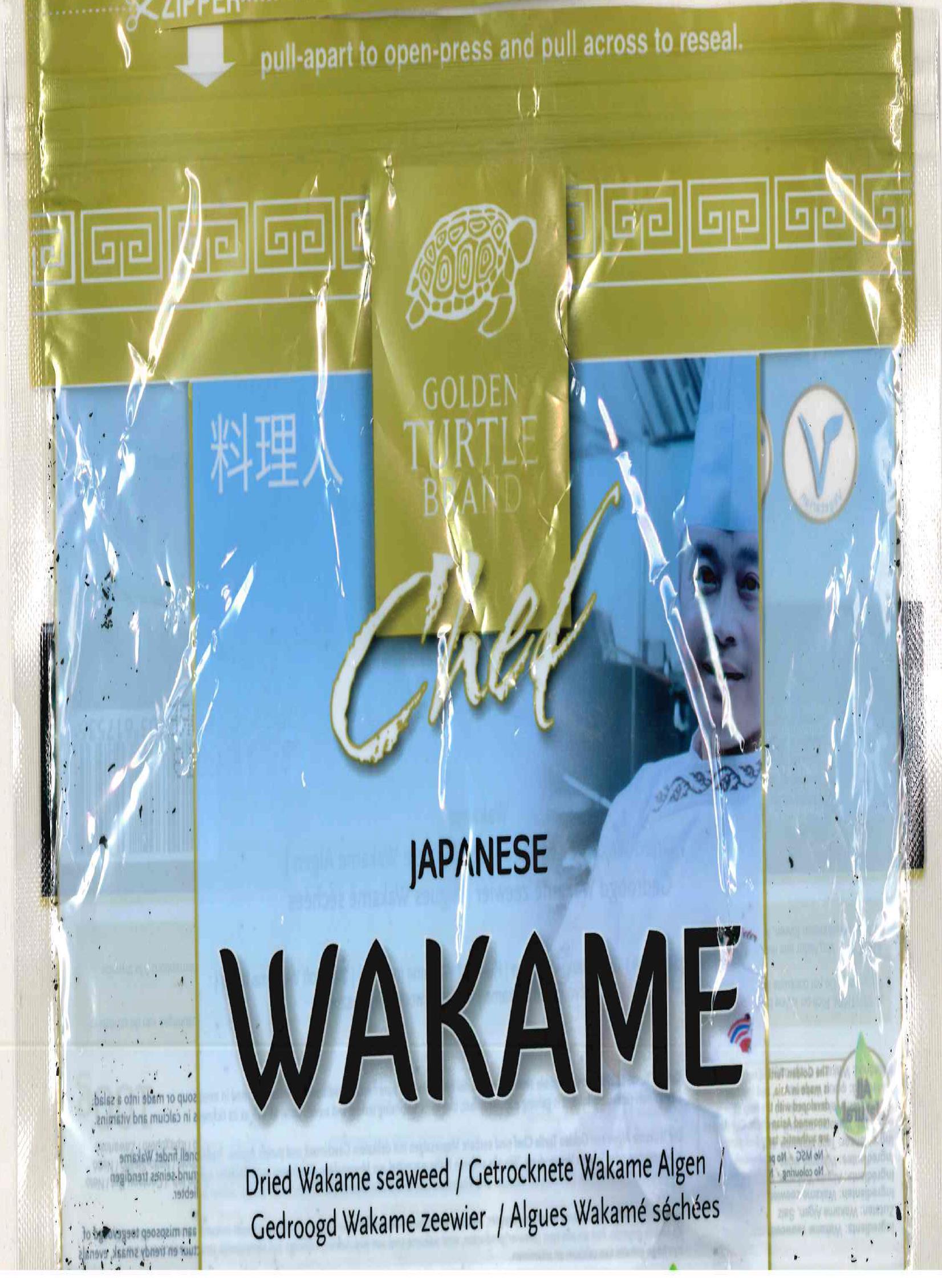 Marke: Chef Japanese Wakame; getrocknete Wakame Algen