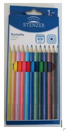 Stenzer Buntstifte 12er-Pack