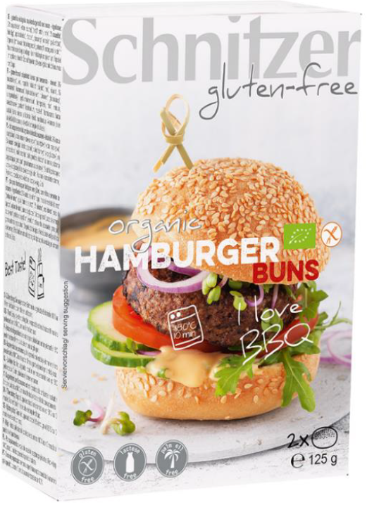 Schnitzer Bio Hamburger Buns