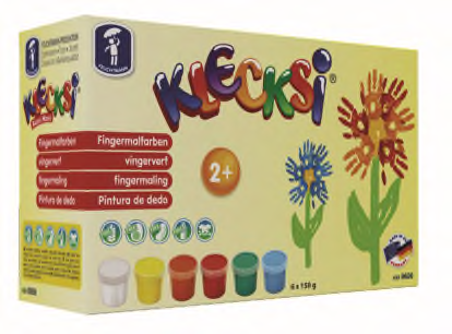 KLECKSi Fingermalfarbe