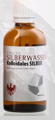 Tiroler Silberwasser Kolloidales Silber Gel