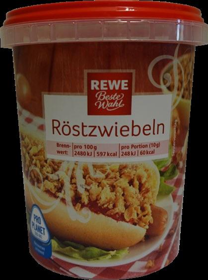 Rewe Beste Wahl Röstzwiebeln, 150g