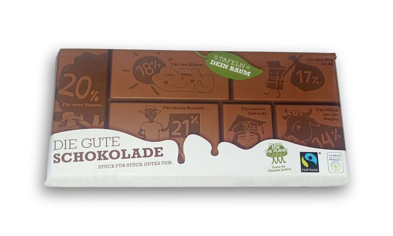 """""""Die Gute Schokolade"""" 100g"""