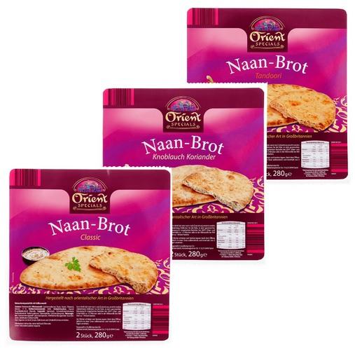 Produktfoto Naan-Broot