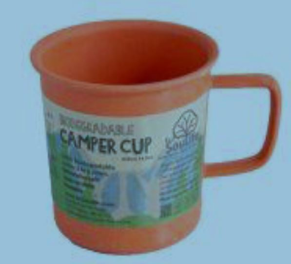 Bamboo Camper Cup, orange