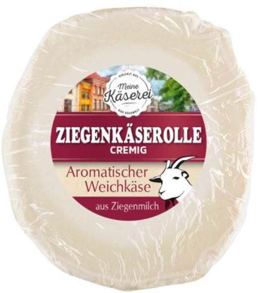 """"""" Meine Käserei Ziegenkäserolle, 100 g """""""