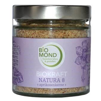 Biokraft Natura Nr. 8 Aprikosenkerne, Bio Aprikosenkerne, Bio Müslimix-Beigabe Aprikosenkerne