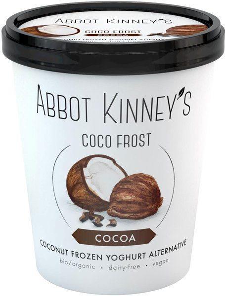 Abbot Kinney's Kokosmilcheis Schokolade 500 ml/ Abbot Kinney's Coco Frost - cocoa 500 ml
