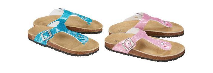 Mädchen Sandale mit Glitzer