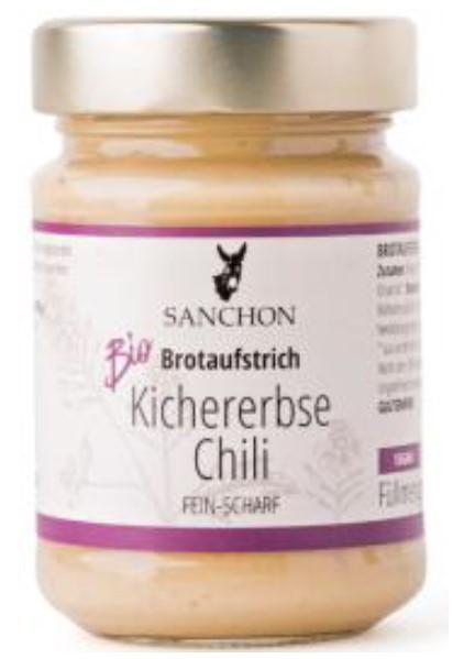 """Brotaufstrich """"Kichererbse Chili"""" der Marke """"Sanchon"""" Brotaufstrich """"Kichererbse Ingwer"""" der Marke """"Sanchon"""""""