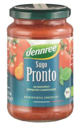 dennree Tomatensauce Sugo Pronto 340 g