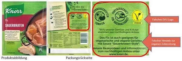 KNORR FIX für Sauerbraten