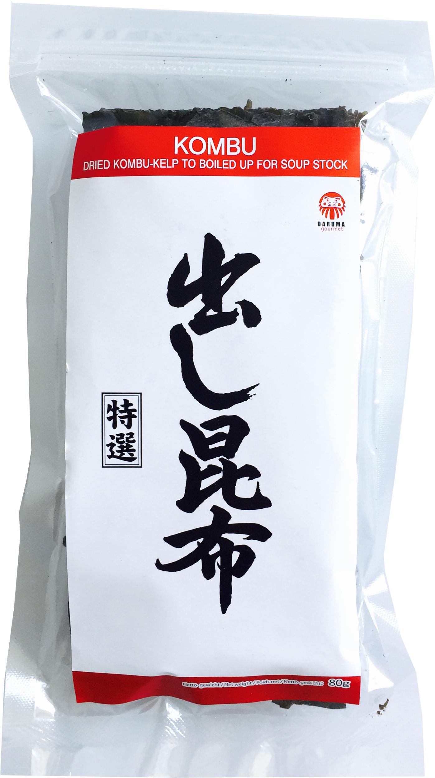 getrocknete Kombu Algen - Dried Kombu-Kelp to boild up for soup stock