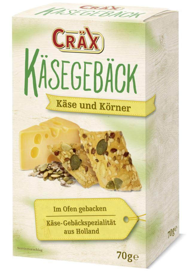 Cräx Käsegebäck Käse & Körner