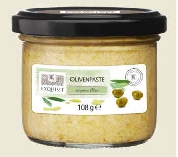 EXQUISIT Olivenpaste aus grünen Oliven 180 g