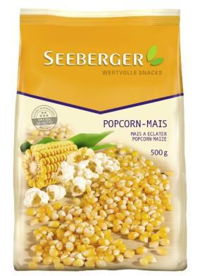Popcorn-Mais 500 g (nicht gepoppt)