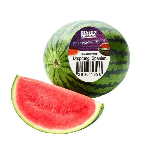 Mini-Wassermelonen, Kl. 1 mit der GGN 4052852232968