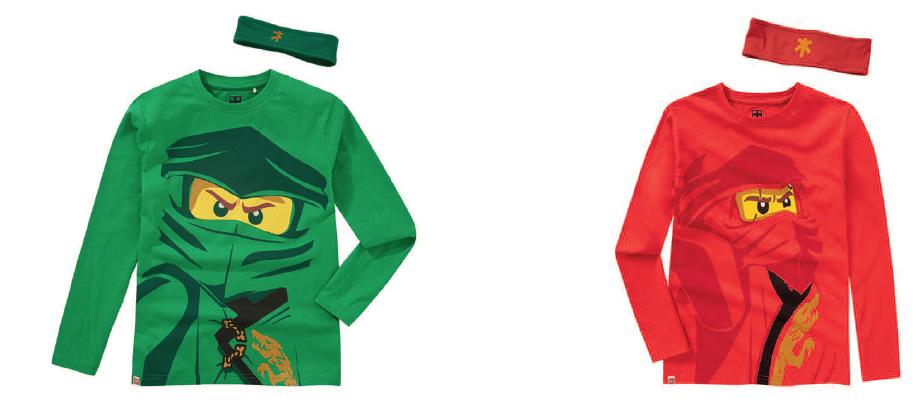 """Jungen Shirt """"LEGO® NINJAGO®"""" / Hersteller Kabooki A/S"""