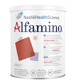 Alfamino Spezialnahrung für Kinder