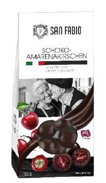San Fabio Amarenakirschen in dunkler Schokolade, 150g (EAN-Code: 28278320)