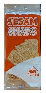 Sesam Snaps 108 g (4x27 g)