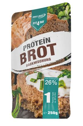 Brotbackmischung Fit4day Protein Brot 250 g