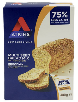 Atkins Low Carb Living Multi Seed Bread Mix with Protein